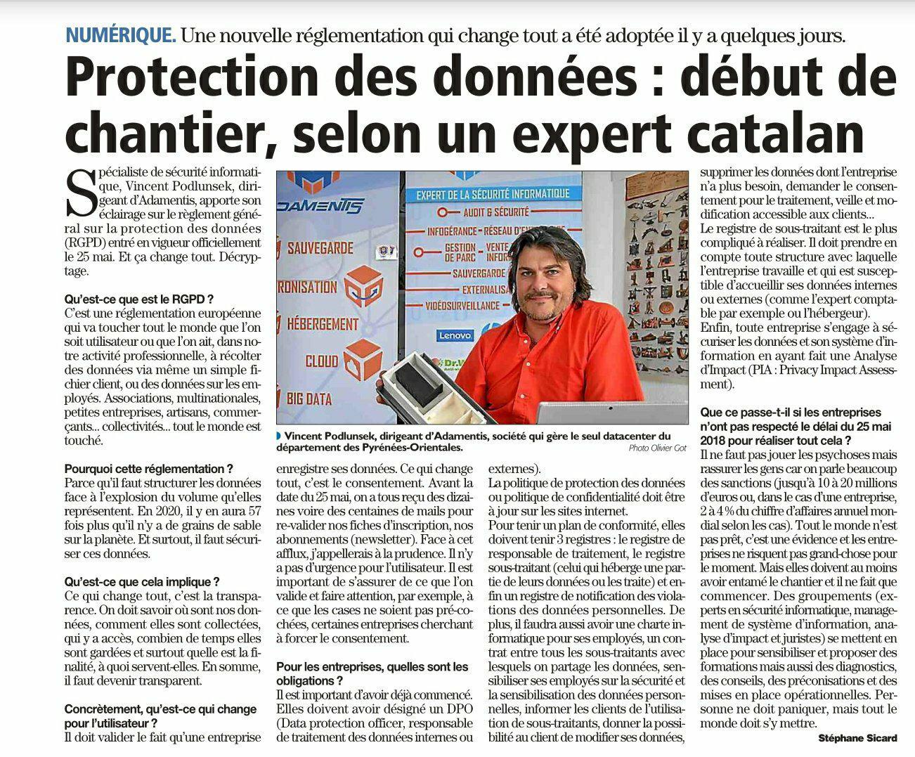 Interview Indépendant Adamentis